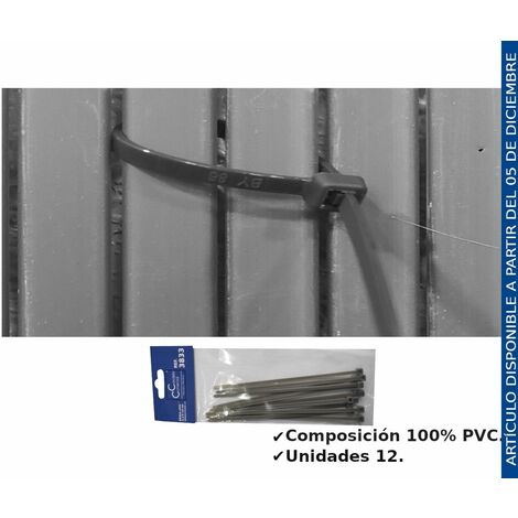"""main image of """"BRIDA GRIS 3,2X14CM"""""""