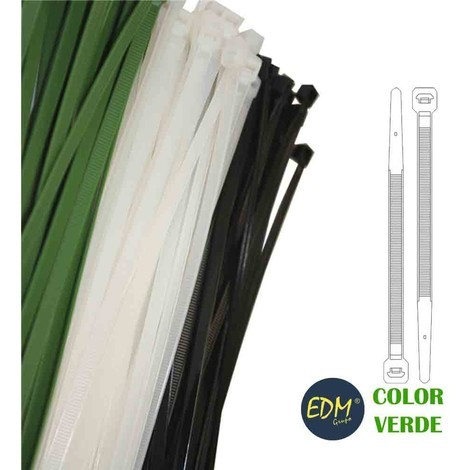 Bridas Verdes 150X3.5 Mm (Bolsa 100 Uni) - NEOFERR