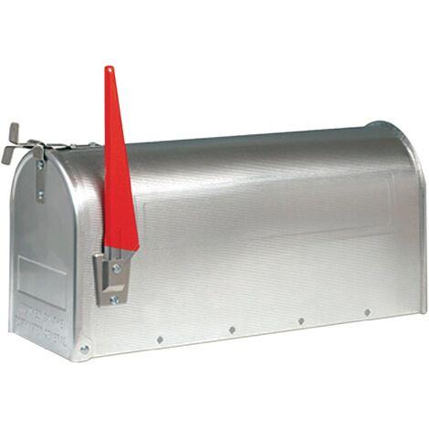 Briefkasten U.S.Mailbox H.220mm B.170mm T.480mm Alu.Aluminium BURG-WÄCHTER