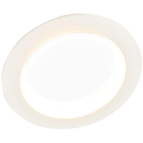 Bright LED downlight Piet, 36W, 3 luminous colours