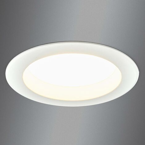 Bright LED recessed light Arian, 14.5 cm, 12.5 W