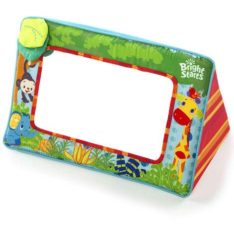 Bright Starts Floor Mirror Sit & See Safari - Multicolour