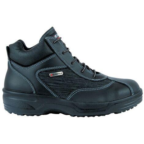 Brigitte Ladies Black Safety Boots