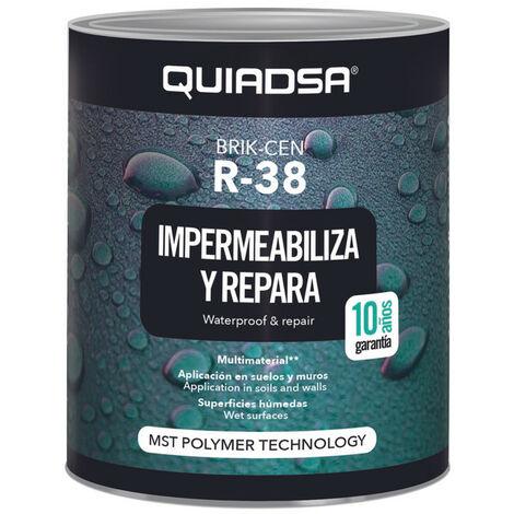 "main image of ""BRIK-CEN R-38 Impermeabilizante MS liquido Terracota 1 kg. - Terracota"""