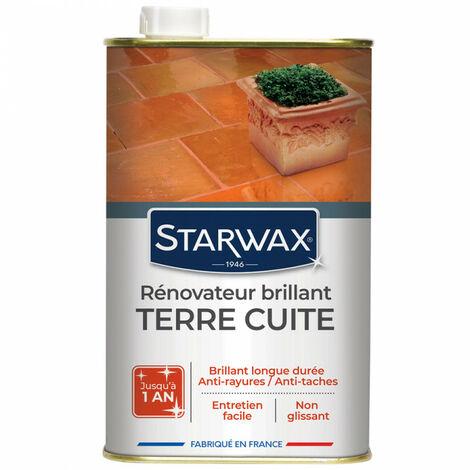 Brillant haute protection pour tomettes et terres cuites Starwax