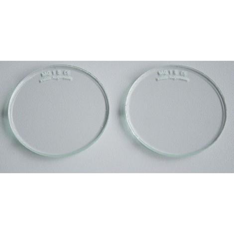 Brillengläser Schutzgläser Brillenschutzgläser Ø 50mm farblos VPE 1 Paar Rimag - 3516