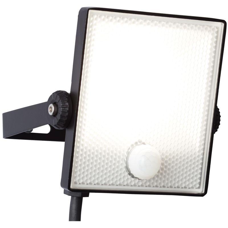 Kunststoff Schwarz BRILLIANT DRYDEN LED Wandstrahler 21,6 cm Metall