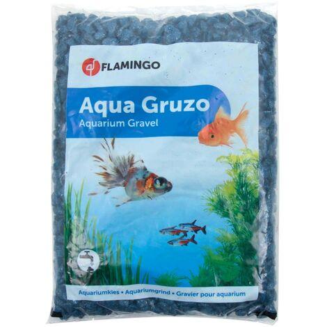 Brilliant gravel Dark blue neon 1 kg aquarium
