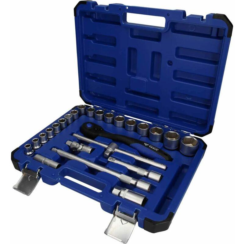 Image of 25 Piece Socket Set 1/2' Steel - Brilliant Tools