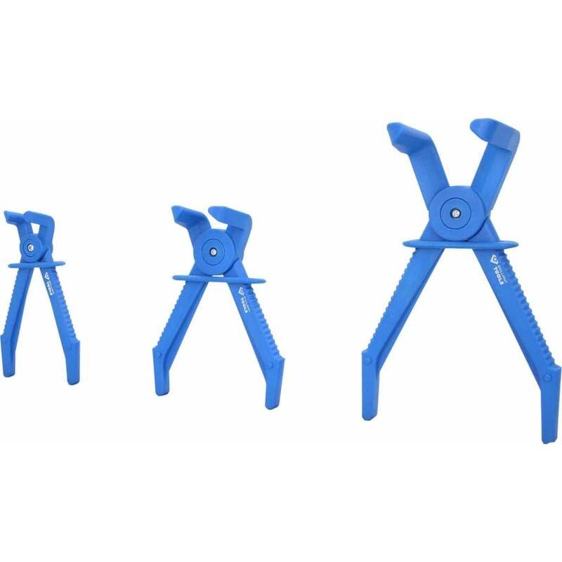 Image of BRILLIANT TOOLS 3 Piece 90° Hose Pinching Plier Set