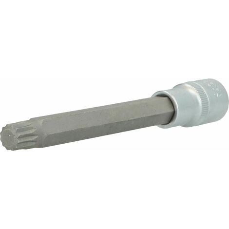 Toolcraft 816171 multidente xzn inserto giravite a bussola 14 mm 1//2 12.5