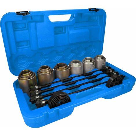 BRILLIANT TOOLS Juego de casquillos de presión y extracción 26 piezas