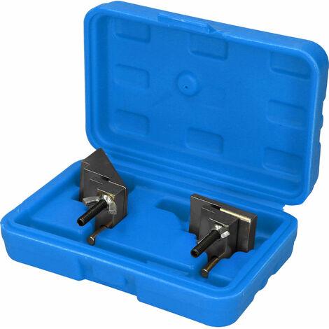 Brilliant Tools Kit de herramientas para montaje y desmontaje de correas trapezoidales, 2 piezas.