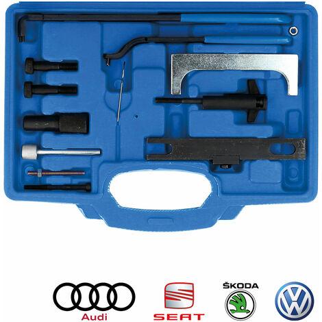 Brilliant Tools Motor-Einstellwerkzeug, für VAG, 13-tlg. für 1.7, 1.9 D, SDI, TDI, 1.6, 1.8, 1.8T, 2.0 Benzin