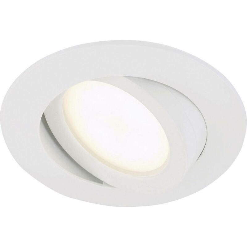Briloner 7209 016 LED Einbauleuchte 5W Warm Weiß Weiß A945371