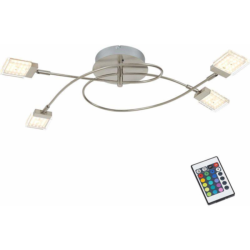 PLAFONIERA BUNTO 4 LUCI LED - Briloner
