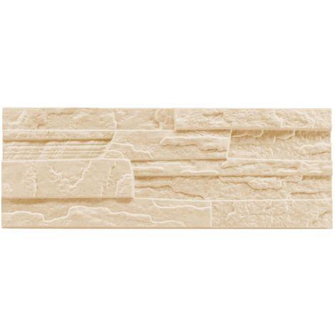 brique de parement   EPS   résistant à la pression   beige   Marbet   48x18cm   pierre