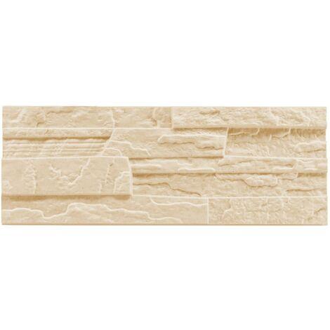 brique de parement | EPS | résistant à la pression | beige | Marbet | 48x18cm | pierre