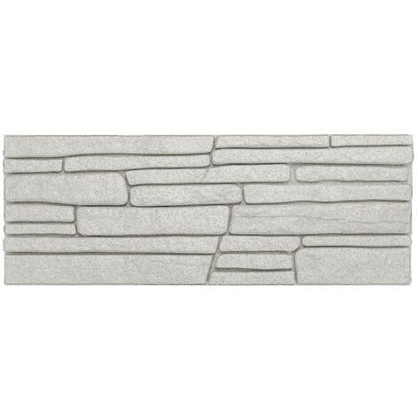 brique de parement | EPS | résistant à la pression | gris | marbet | 48x18cm | jupe