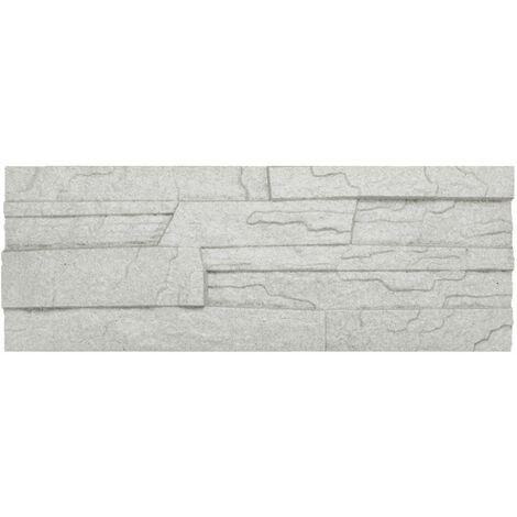 brique de parement | EPS | résistant à la pression | gris | Marbet | 48x18cm | pierre