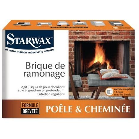 BRIQUE DE RAMONAGE formule breveté STARWAX -ST1209