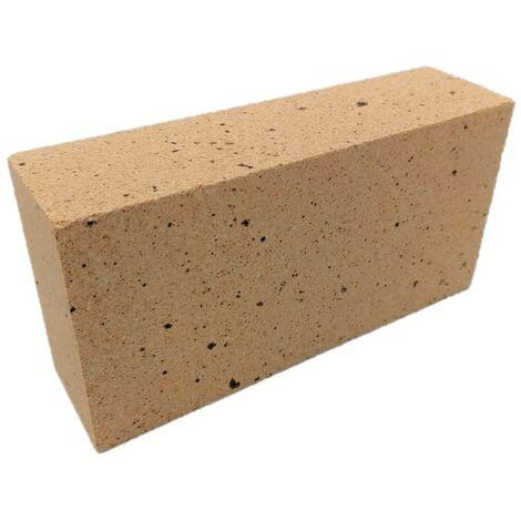Brique réfractaire dense 220 x 110 x 60 mm - 40 % d'alumine