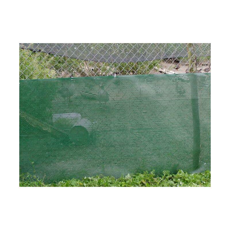 Brise-vent extrudé Vert 1m x 50m - Vert