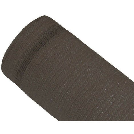 Brise-vue 100% - Taupe - 270g/m² - Boutonnières Taupe 1.5m x 5m - Taupe