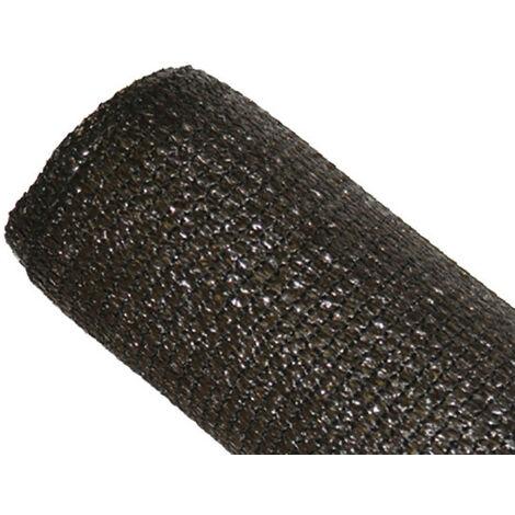 Brise-vue 80% Marron/Noir - 95gr/m² - Sans boutonnières Marron/Noir 1m x 10m - Marron/Noir