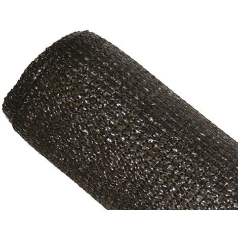 Brise-vue 80% Marron/Noir - 95gr/m² - Sans boutonnières Marron/Noir 1m x 5m - Marron/Noir