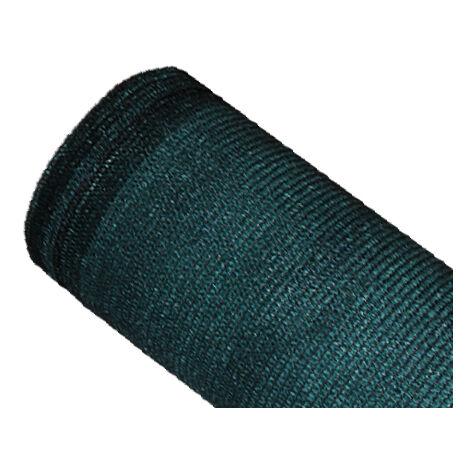 Brise-vue 85% - Vert/Noir - 130gr/m² - Sans Boutonnières Vert/Noir 1.20m x 10m - Vert/Noir