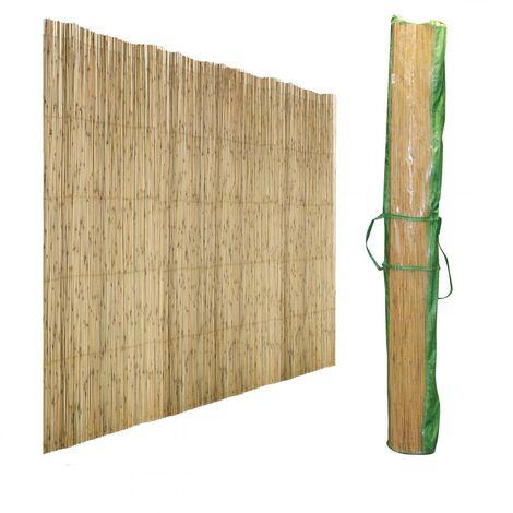 Brise-vue / Canisse roseau naturel 1 X 5 Mètres