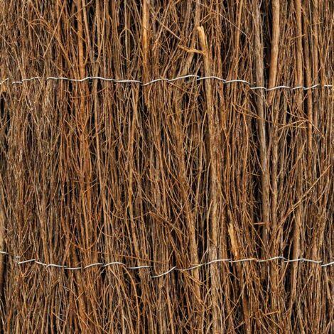 Brise-vue en brande de bruyère en rouleau 1,5 x 3 mètres