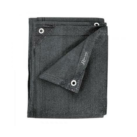 Brise vue gris - 1,50 x 10 m - 230 grs/m² - occultation 96%