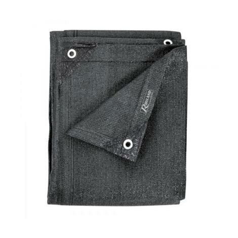 Brise vue gris - 1,80 x 10 m - 230 grs/m² - occultation 96%