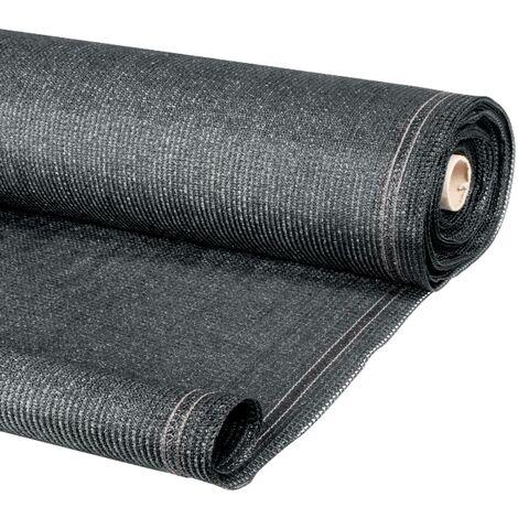 Brise vue gris 2 x 10 m 90 gr/m² classique