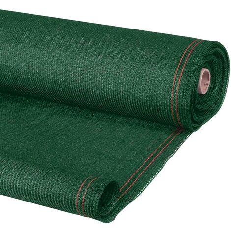 Brise vue occultant 1,5 x 10 m vert 400 gr/m² ultra résistant