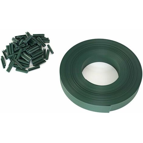 Kit brise vue occultant en PVC vert
