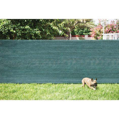 Brise-vue occultation 120 g/m² Catral - Vert olive - Longueur 10 m - Hauteur 1 m