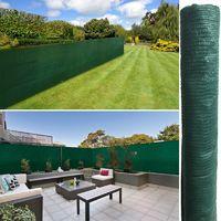 Brise vue vert 1 x 5 m 90 gr/m² classique