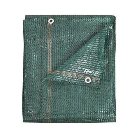 Brise vue vert - 1 x 5 m - 90 grs/m² - opaque- couleur vegetal