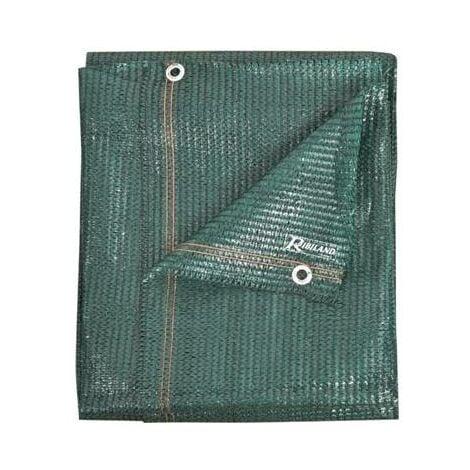 Brise vue vert - 1,5 x 10 m - 90 grs/m² - opaque- couleur vegetal