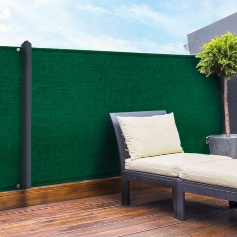 Brise vue vert 2 x 10 m 90 gr/m² classique