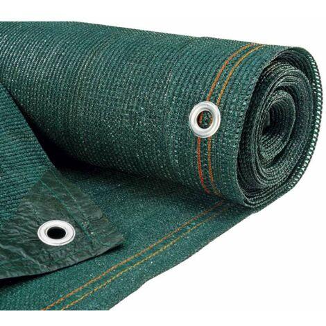 Brise vue vert 300 g/m2 10 x 2 m