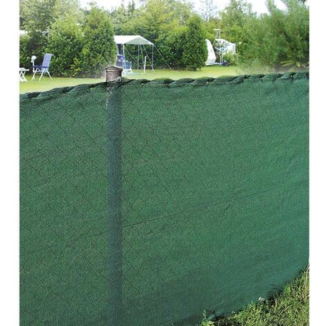 Brise vue vert 80g/m2 Werkapro 1,2m x 10m