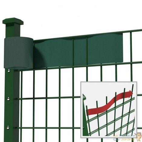 Brise - Vue, Vert, Pour Clôtures, 35 m De Longueur, 19 cm De Hauteur