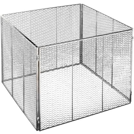 Brista Metall Komposter 80x80 cm