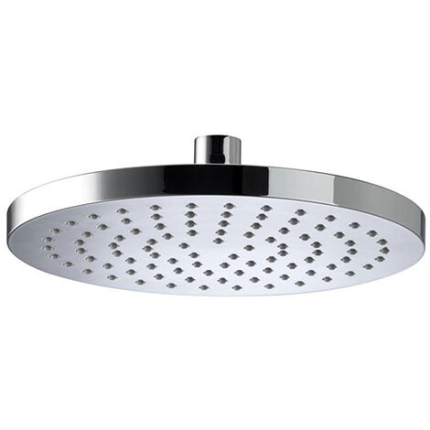 Bristan ABS Round Fixed Shower Head, 200mm Diameter, Chrome