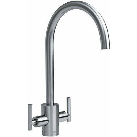 Bristan Artisan Mono Kitchen Sink Mixer Tap Double Lever Modern Easyfit Chrome