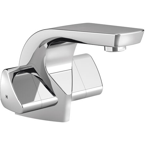 Bristan Bright Mono Bath Filler Tap, Deck Mounted, Chrome